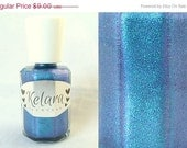 SALE Blue-berry Shimmer Indie Nail Polish Full Size