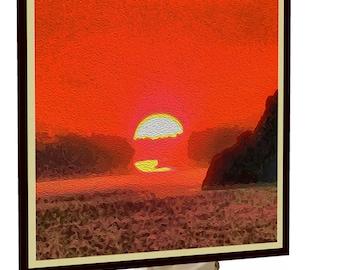 Sifnos Sunset - Sifnos Island Greece - Nightlight