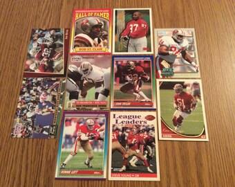 50 San Francisco 49ers Football Cards