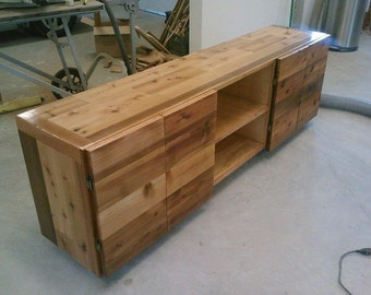 Entertainment Center - Cedar