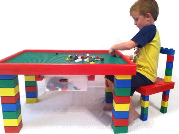 table and chair lego table kids table playroom furniture kids