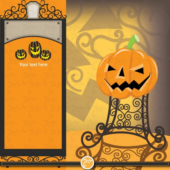 halloween clipart invitations - photo #7