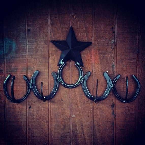 Western Horseshoe Hanger Rustic Home Decor By