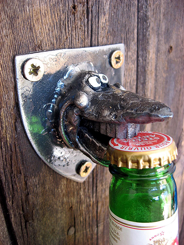Silly Shark Bottle Opener Wall Mounted