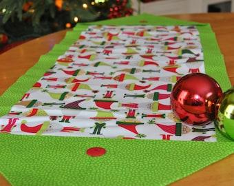 Christmas Elves Table Runner