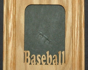 Baseball Picture Frame 5x7