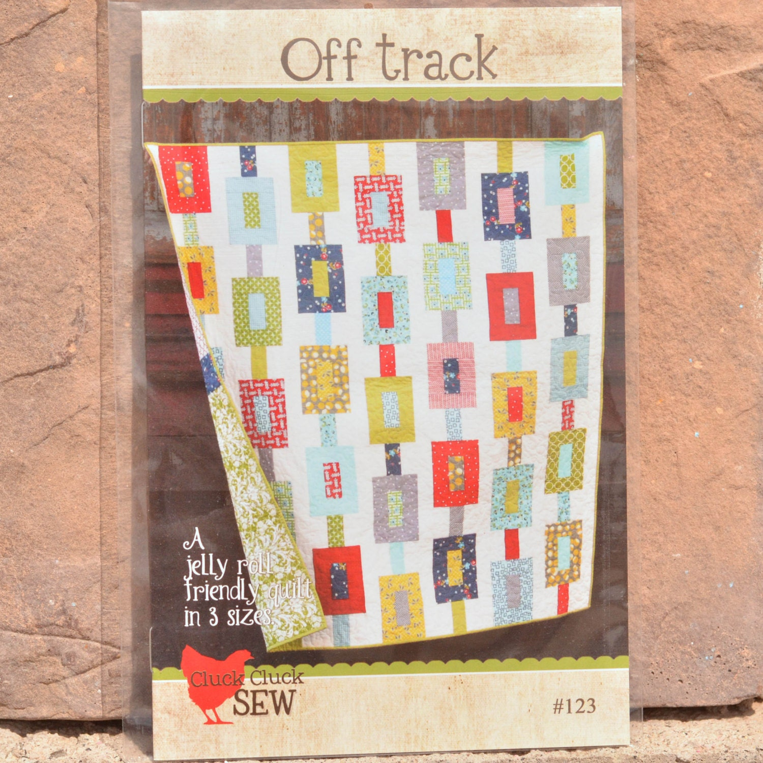 Cluck Cluck Sew Off Track Quilt Pattern
