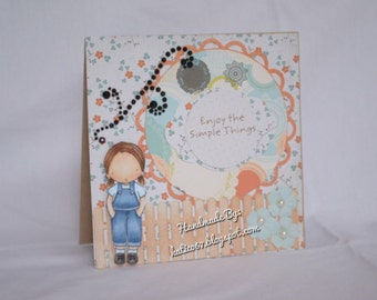 Enjoy The Simple Things Card