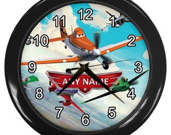 Disney Planes Free Personalized, Collection Gift Wall Clock
