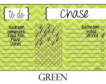 Kid Chore Magnet, Magnetic Chore Chart