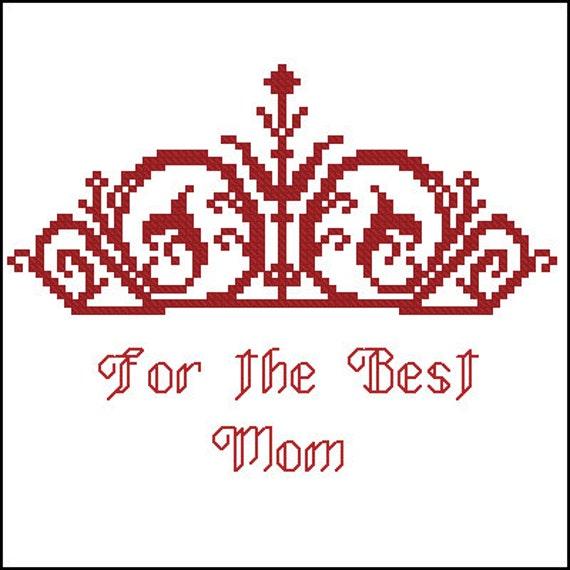Для мамы аж две короны