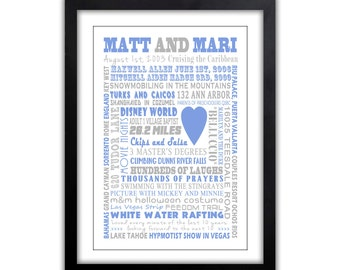 Gift For Him - Husband - Boyfriend - Customized Gift For ,  Gift For Him or Her,  Any Color, Valentines Art Print, , Sweet memories Print