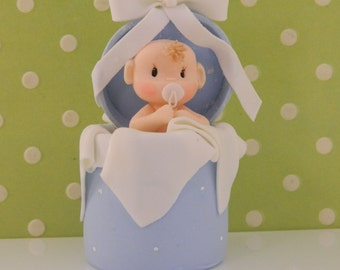 Surprise Baby Boy Cake Top