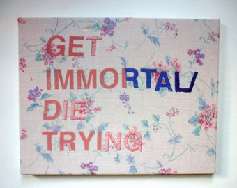 IMMORTAL embroidery