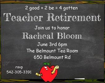 teacher retirement party invitations-1944