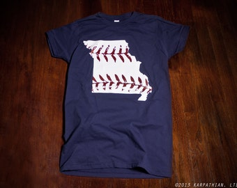 Missouri baseball Ladies junior fit t shirt