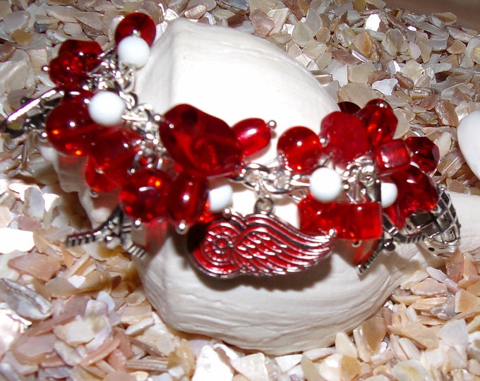 Detroit Red Wings Bracelet