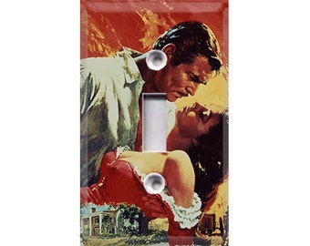 Gone With the Wind - Rhett & Scarlett Light Switch Cover