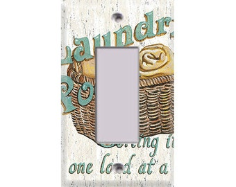 Laundry Room Style 2 Rocker/GFI Cover