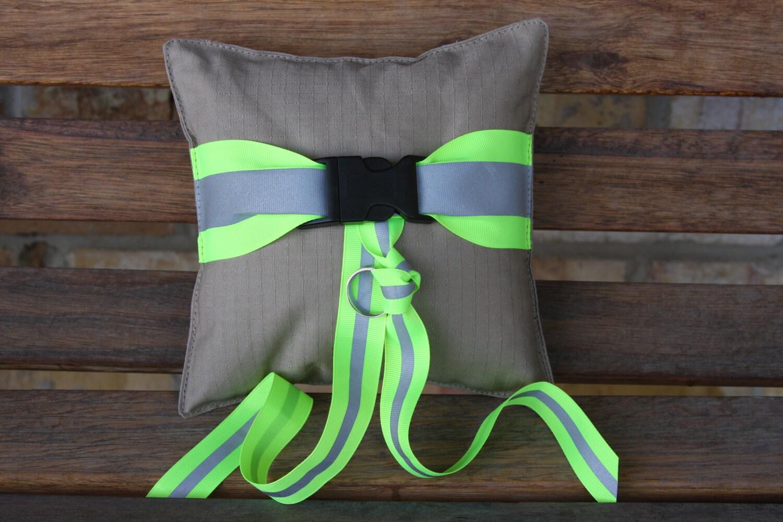 Firefighter Wedding Ring Pillow