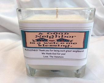 Medium 10oz Customized Candle