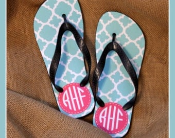 Graduation Gifts for Her Flip Flops Monogrammed Gift Dorm Accessories College Graduation Gift Personalized Custom Shower Shoes Dorm Room