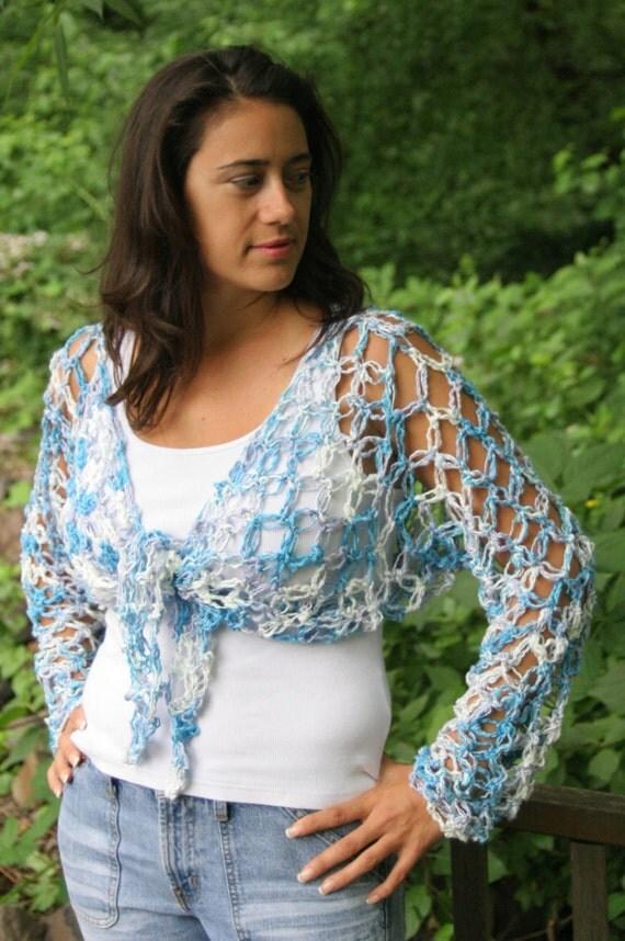 Lover S Solomon S Knot Wrap Tie Cover Up Crochet