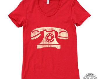 Women's PHONE American Apparel Poly-Cotton Tee