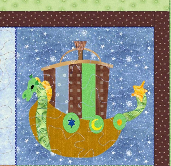 Baby Boys Nautical Quilt Pattern A Boys Imagination