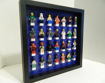 Handmade Display case for LEGO minifigure,lego minifig,lego starwars,lego Display shelve,Minifigure shelves