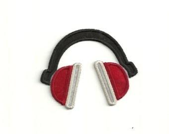 Headphones Patch! Custom Made! AP86