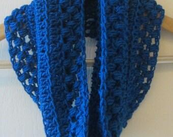 Crochet Pattern Cowl Neckwarmer Lace Vintage