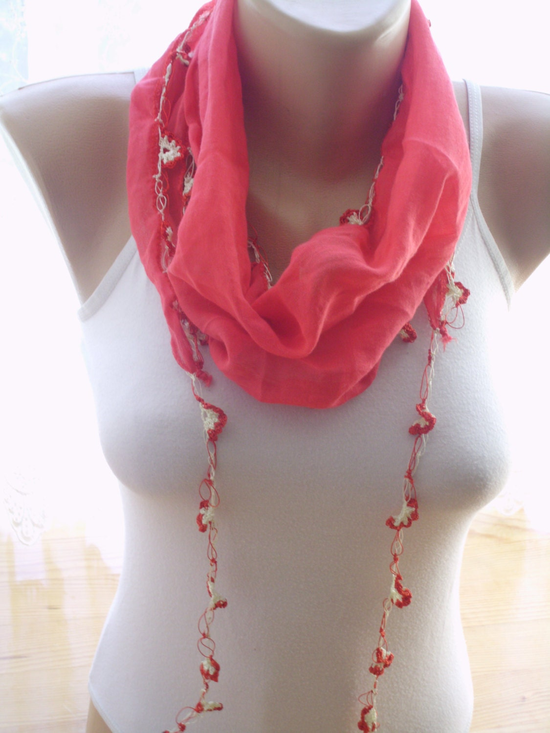 items similar to turkish scarves crochet scarves
