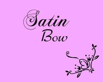 Satin Bow for Tutu