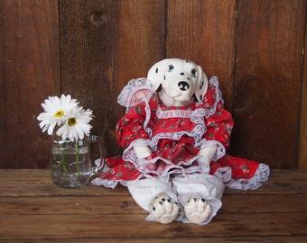 dalmation dog doll