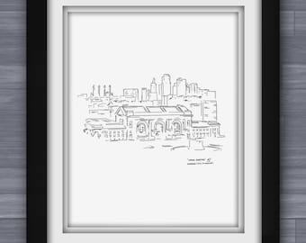 Union Station, Kansas City Limited Print