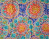 Lilly Pulitzer Fabric Written in the Sun (2014 Horoscope Print, Celestial, Suns) - Perfect for Greek / Sorority Fabric Letters