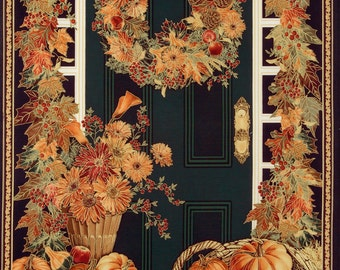 Autumn, Fall, & Harvest Cotton Fabric Panels by Timeless Treasures! [Sold by the Panel]