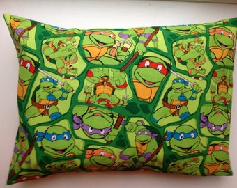 Percale Pillow Case - Ninja Turtles