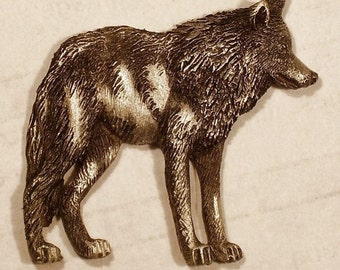 New Wolf Design......Lone Gray Wolf...