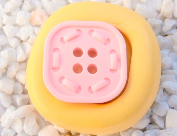 Baby  Button Accessories Kawaii Mold Mould Resin Clay Fondant Wax Soap Flexible Mold