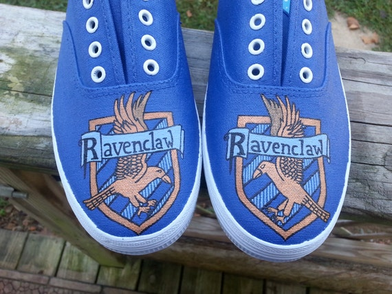 Harry Potter Ravenclaw house shoes by WhiskyFoxtrot on Etsy