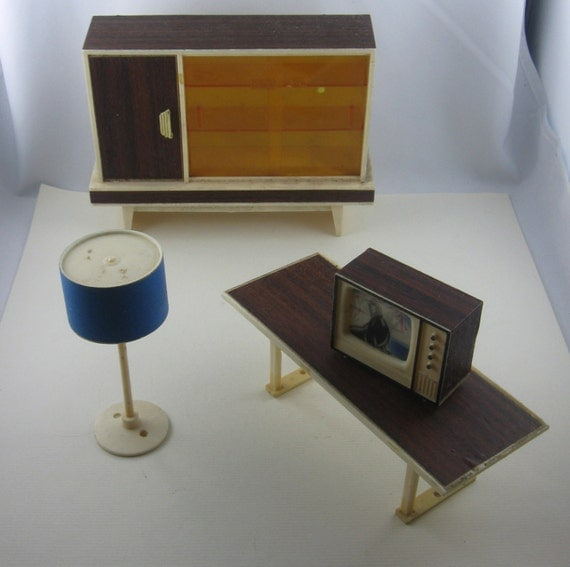 10 off 60s 70s dollhouse furniture living room wardrobe for 70s living room furniture