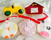 Animal / Farm Party Cookies