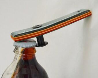 Bottle Opener made from Reclaimed Skateboards