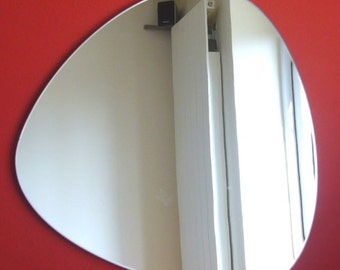 Pebble Shaped Mirrors - Triangular - 3 Sizes Available