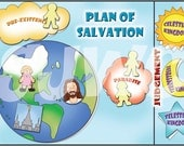 PLAN OF SALVATION File Folder Game - Downloadable pdf Only