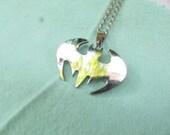 Hot-Titanium steel Batman pendant necklace chain Fashion Jewelry