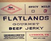 Flatlands Gourmet Beef Jerky