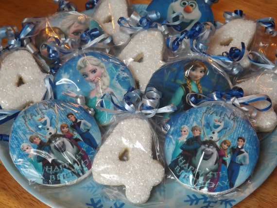 Custom Personalized Frozen Birthday Party By Simplysugarbakery